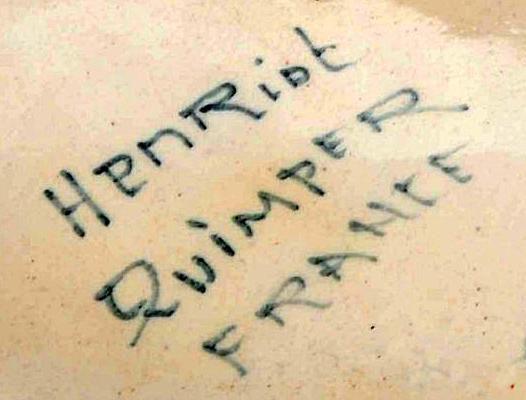 Henriot Quimper Mark