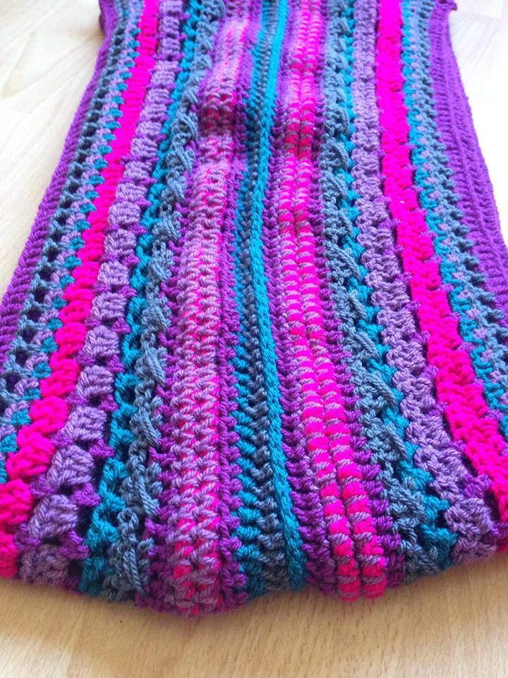 100 Free Crochet Scarf Patterns