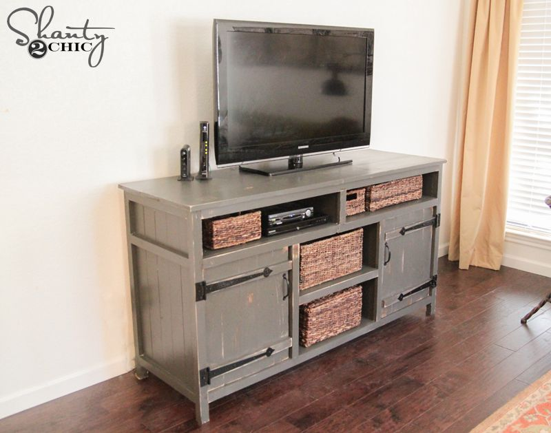 12 Free Diy Tv Stand Plans You Can Build Right Now