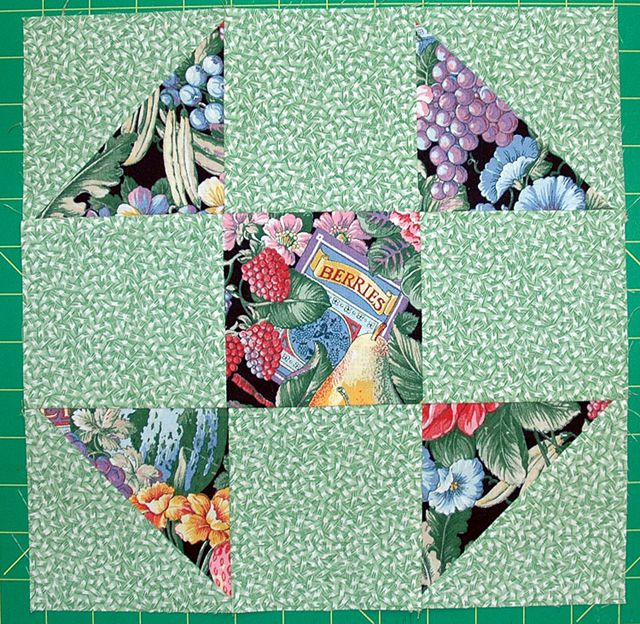 Shoo Fly Quilt Block Pattern