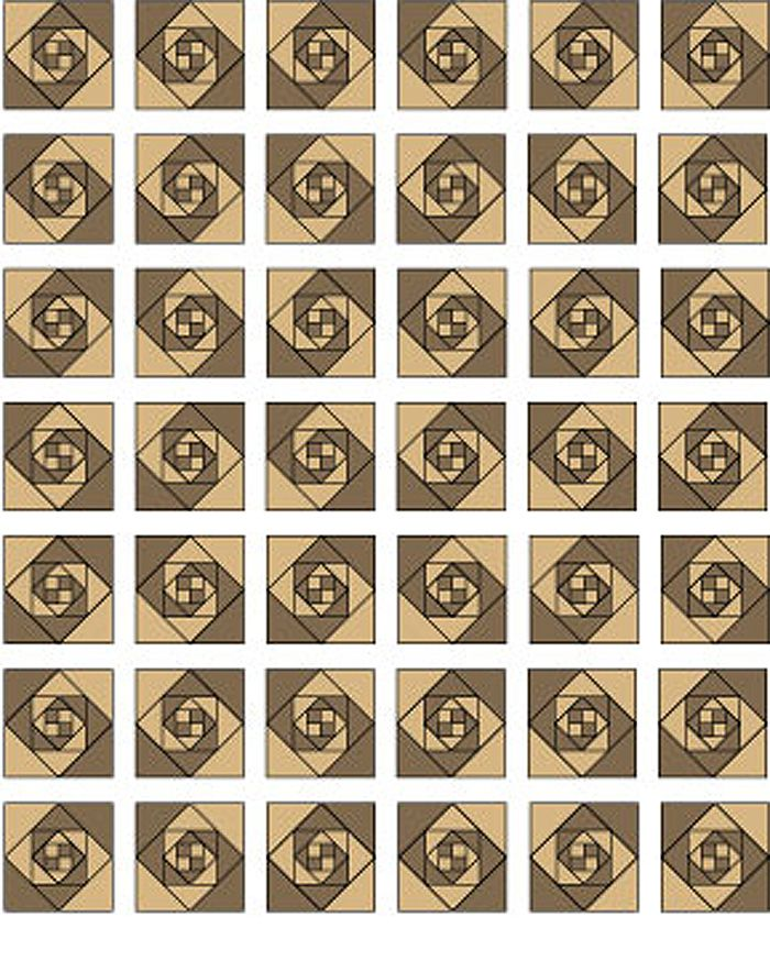 Try An Easy Snails Trail Quilt Pattern
