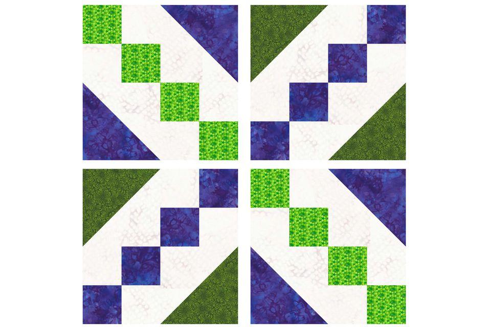 Buckeye Beauty Quilt Block Pattern