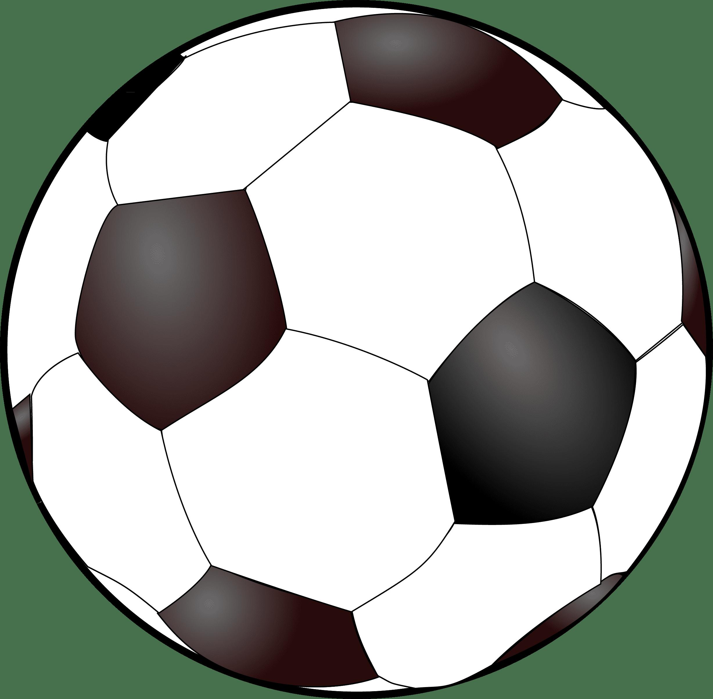 Soccer Ball Digital Stamp