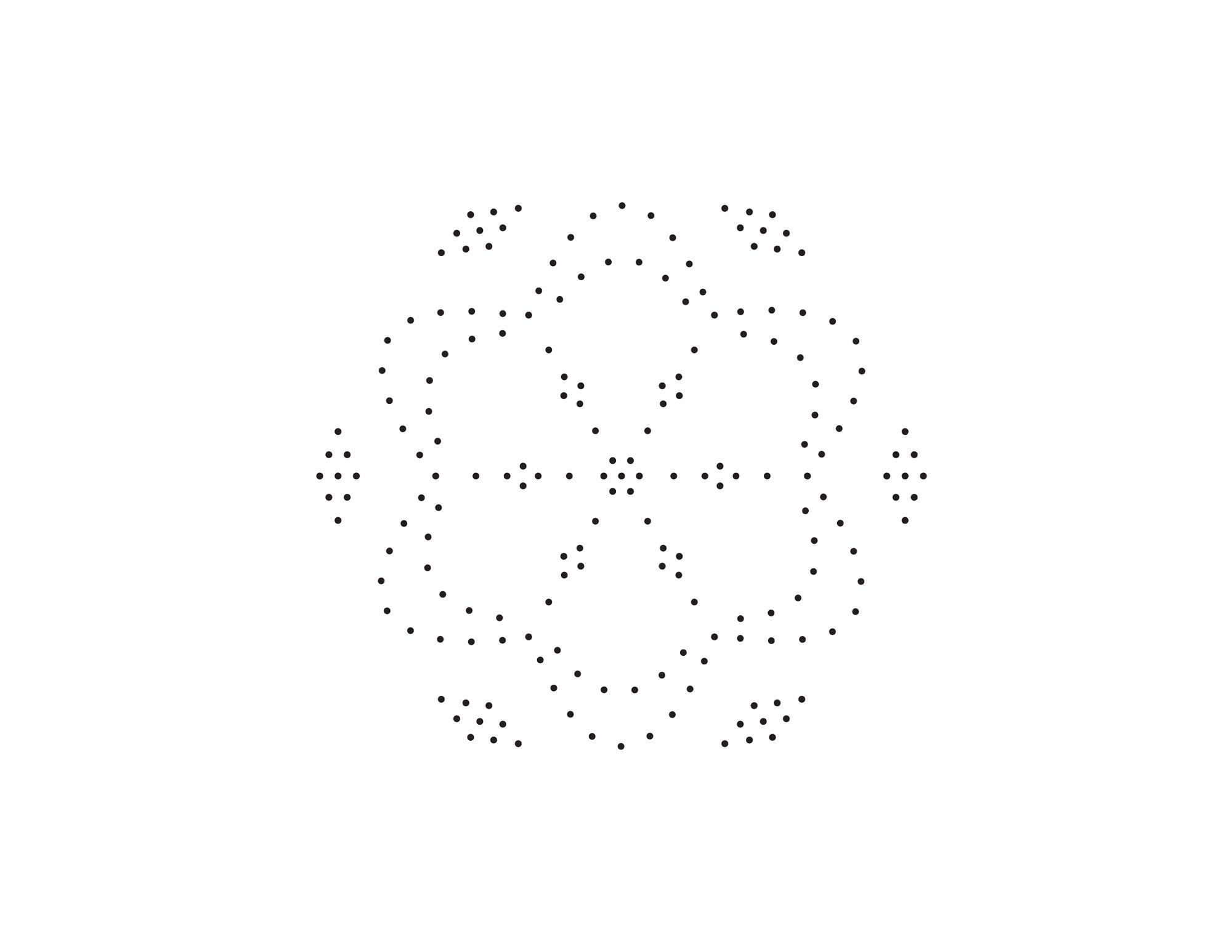 Candlewick Mandala Embroidery Pattern