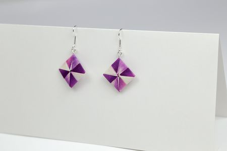Customize And Display Your Origami Earrings