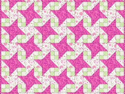 Ocean Waves Quilt Pattern