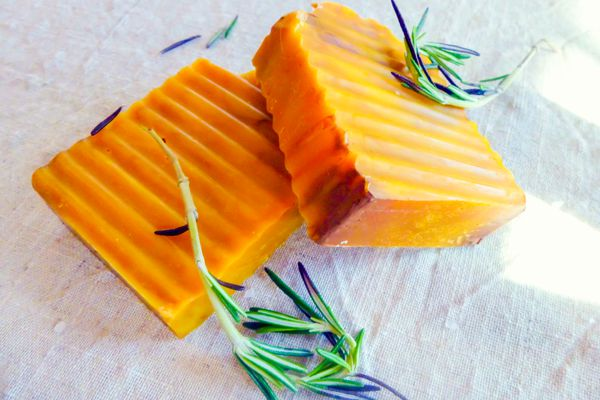 cocoa butter and shea butter soap