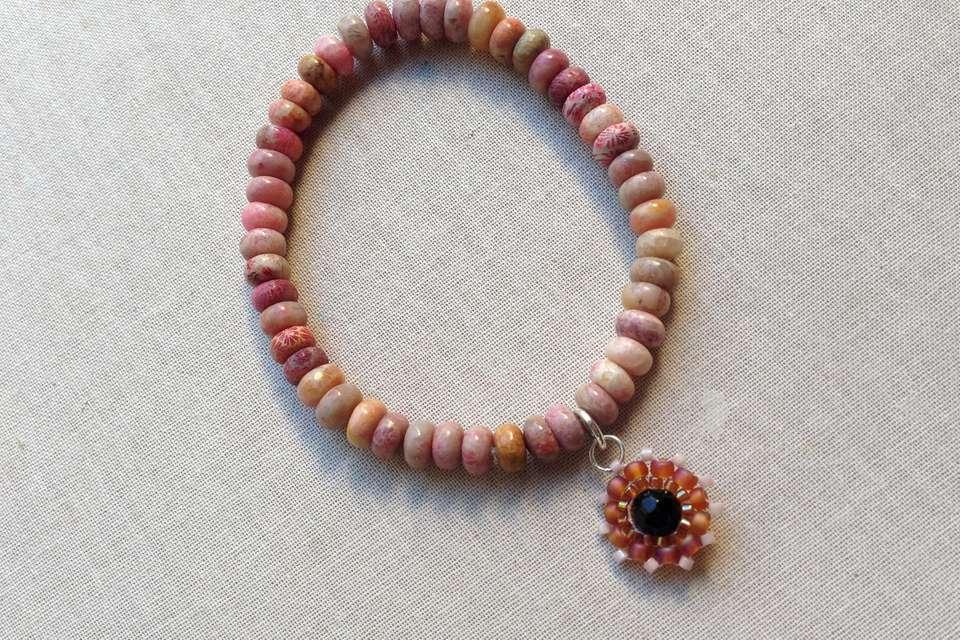DIY Elastic Bead Bracelet