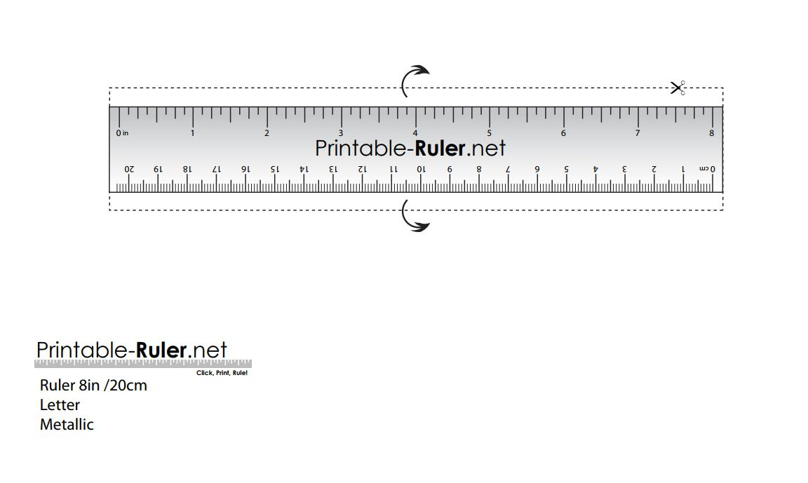 here are some printable rulers when you need one fast