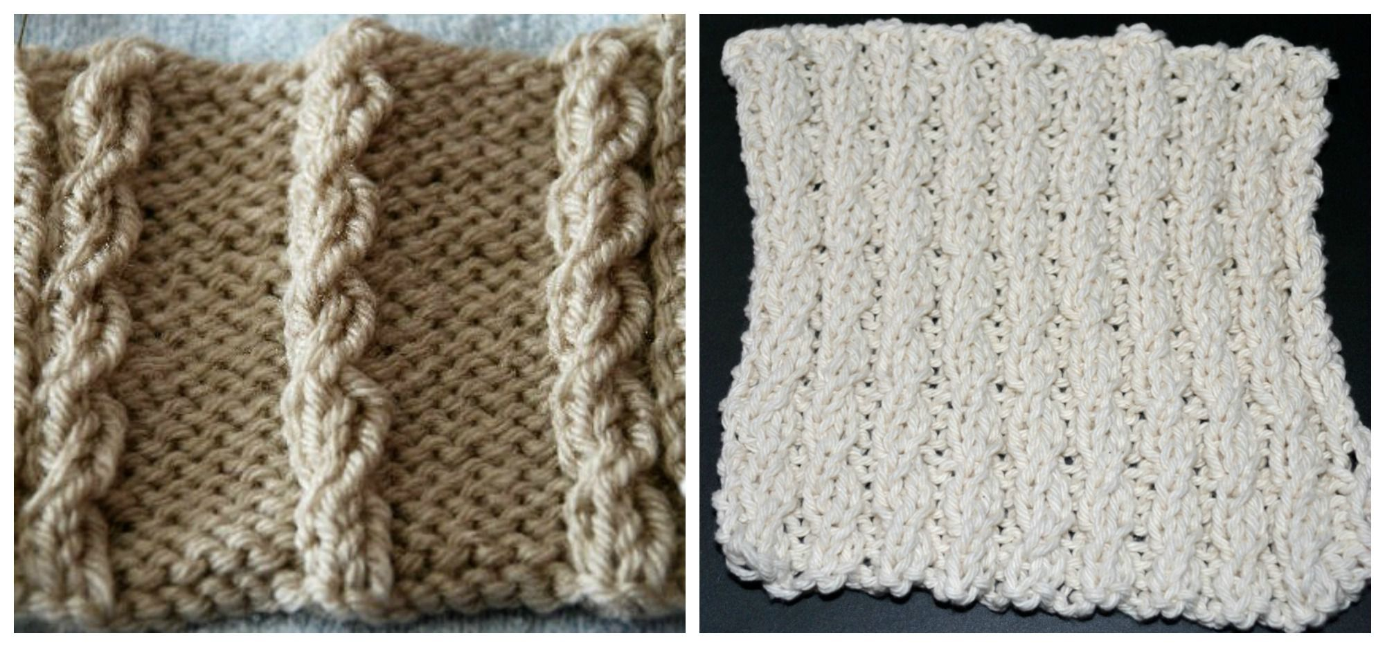 Learn How To Knit A Simple Mock Cable
