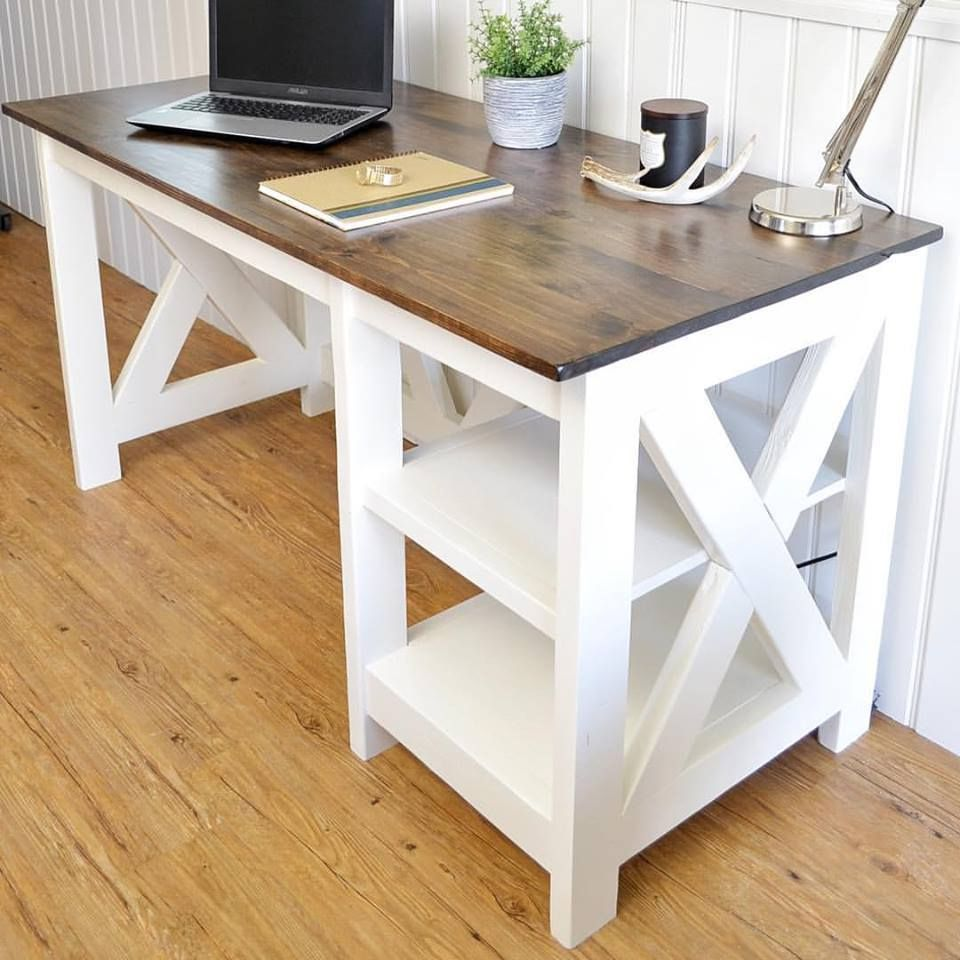 17 Free Diy Desk Plans You Can Build Today Small Shelves On My For Electronic Parts Store