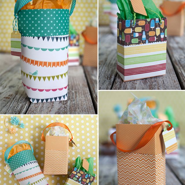 how to make diy paper gift bags