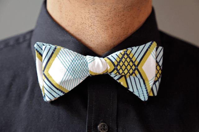 DIY Bow Tie For Dad