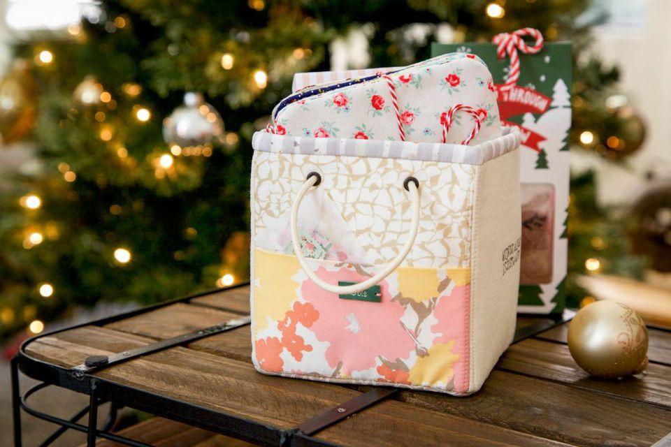 Mini Basket Sewing Tutorial