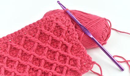 Diamond Crochet Stitch Sample