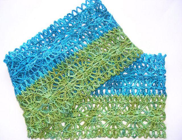 Lacy Crochet Scarf Free Pattern