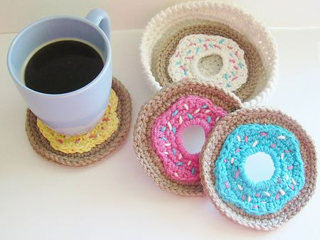 60 Creative Crochet Coaster Patterns Extraordinary Crochet Coaster Pattern