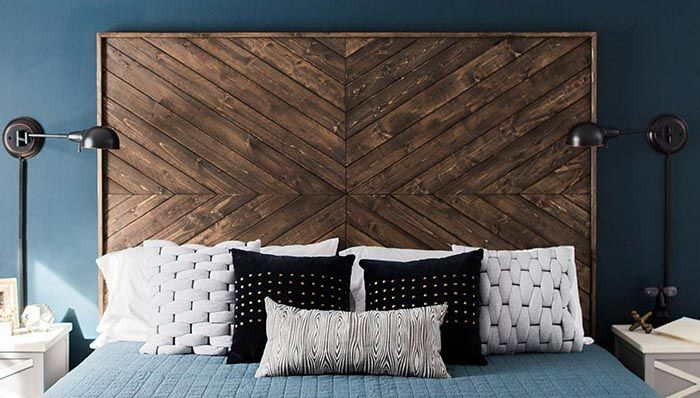15 Diy Wood Headboards Anyone Can Build