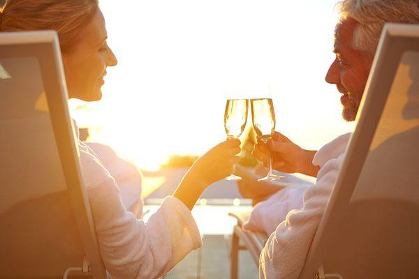 Couple Celebrating an Anniversary