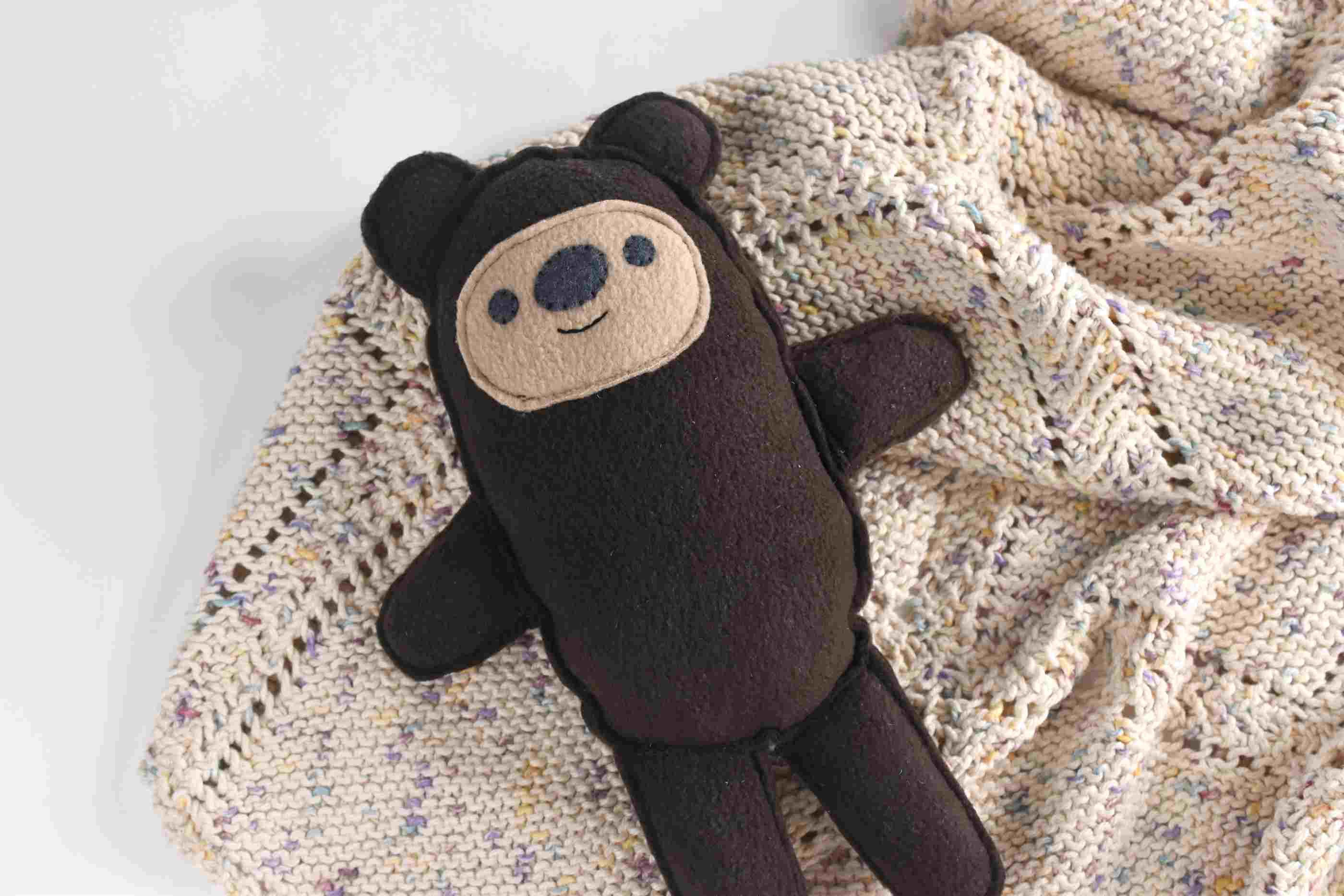 Cuddly Teddy Bear Sewing Pattern