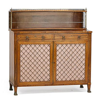 Soundalike Antique Furniture: Régence Vs. Regency - How To Identify Sheraton Style Antique Furniture
