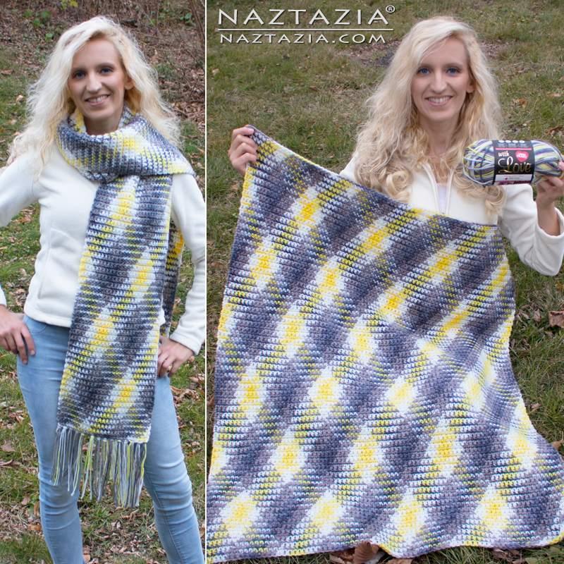 Colorwork Planned Pooling In Crochet