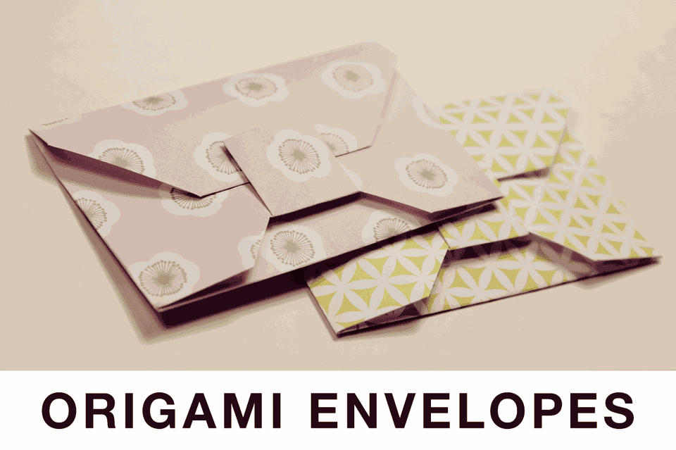 Origami Envelope Tutorial