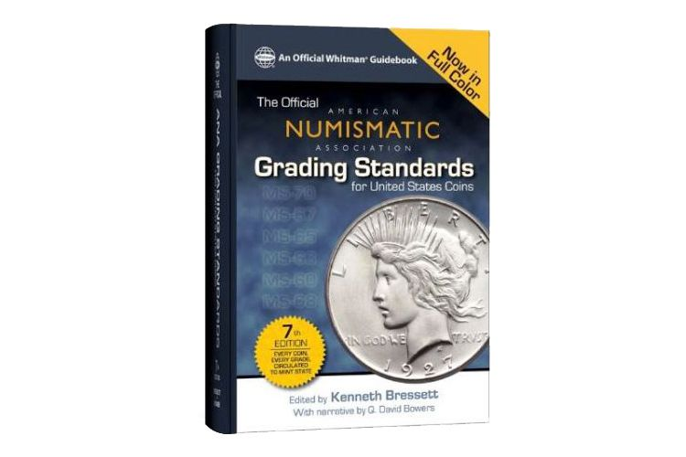 The Official A.N.A. Grading Standards for United States Coins, 7th Edition 2013 Cover