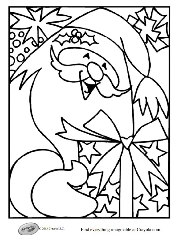 1453 Free Printable Christmas Coloring Pages For Kids