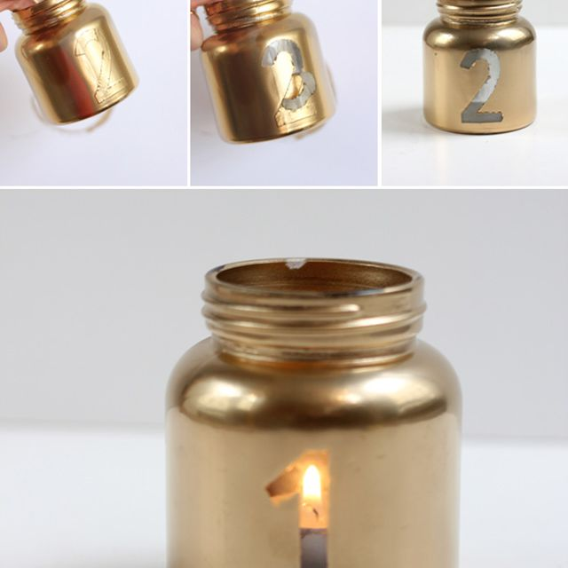 candle table number