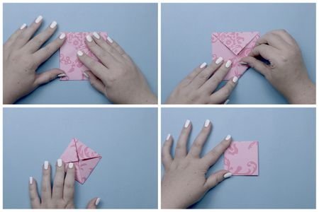 Easy Origami Lotus Tutorial