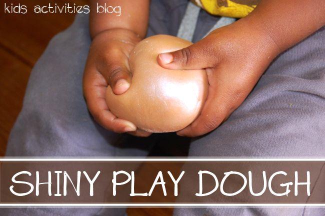 Shiny Play Dough