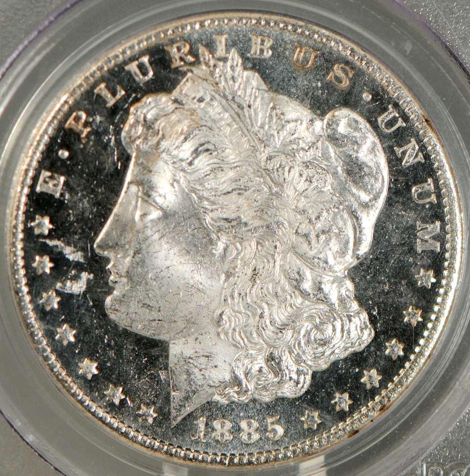 Deep Mirror Proof-Like (DMPL) Morgan Dollar
