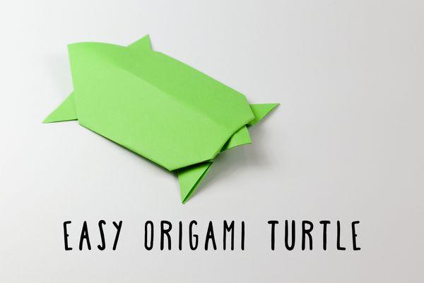 easy origami turtle
