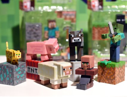 New Minecraft Toys and Games