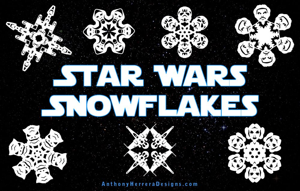 7 amazing snowflake patterns templates