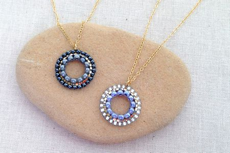 The best pendant and earrings beadwork projects aloadofball Choice Image