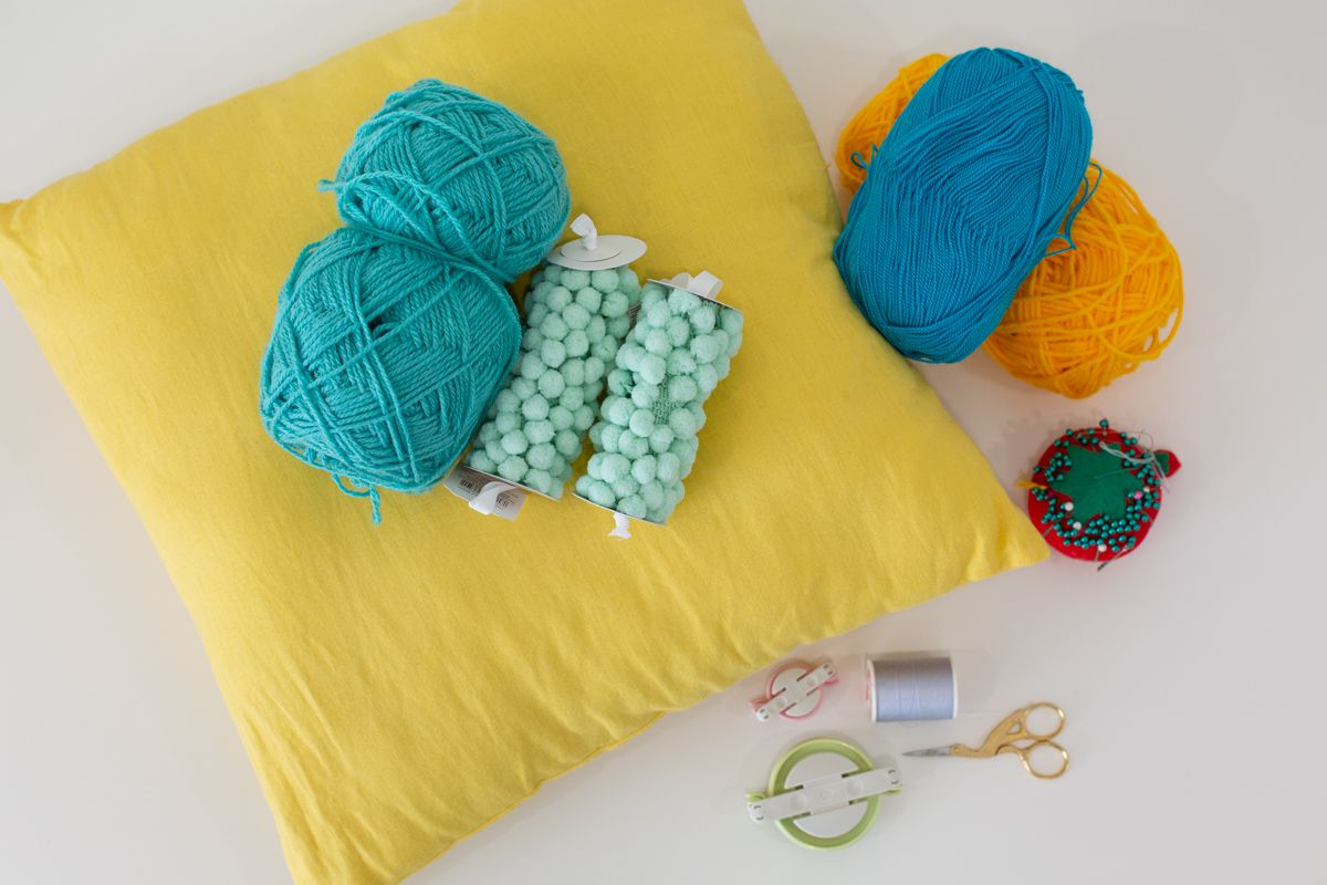 Materials for making a custom pillow