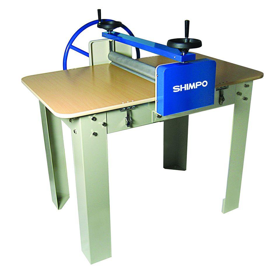 A Shimpo brand slab roller