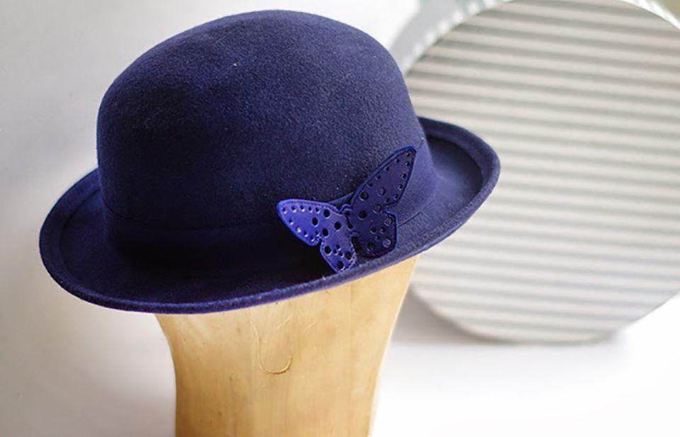 embellish a hat