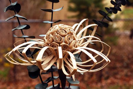 Do It Yourself Recycled Cardboard Tube Flower Paper Craft