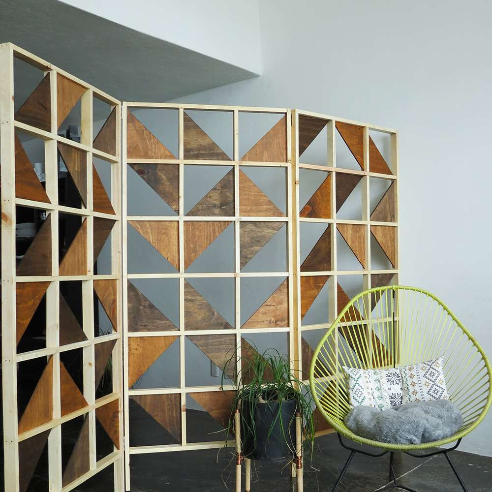 DIY projects for small spaces and studio apartments