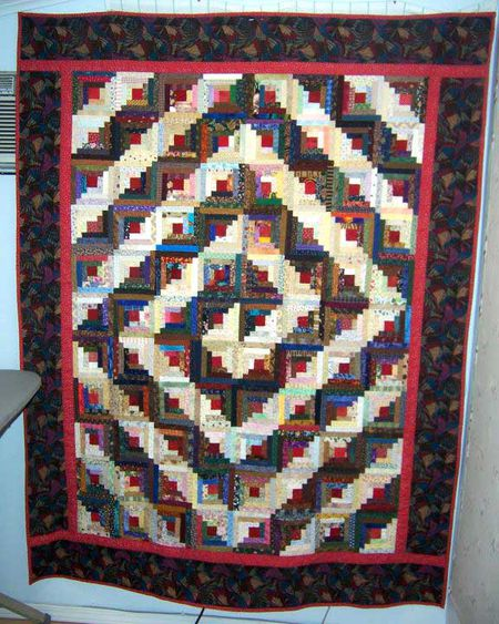 Log Cabin Quilts Photo Gallery And Layout Tips Mesmerizing Log Cabin Quilt Patterns
