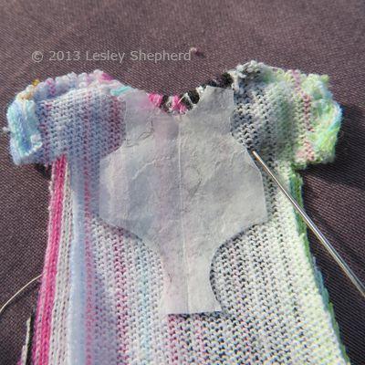 9f17b8856 Length of underarm seam on a custom fitted baby doll sleeper.
