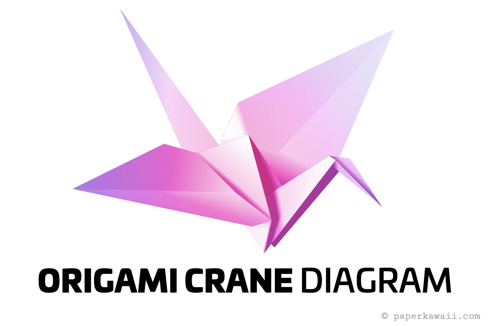 easy origami crane tutorial 01