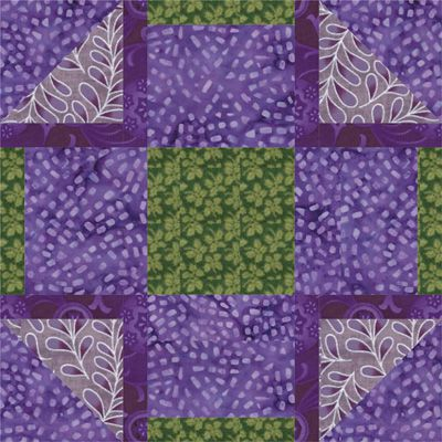 Watermill, a Free Quilt Block Pattern