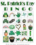 St. Patrick's Day Printable Bingo Cards