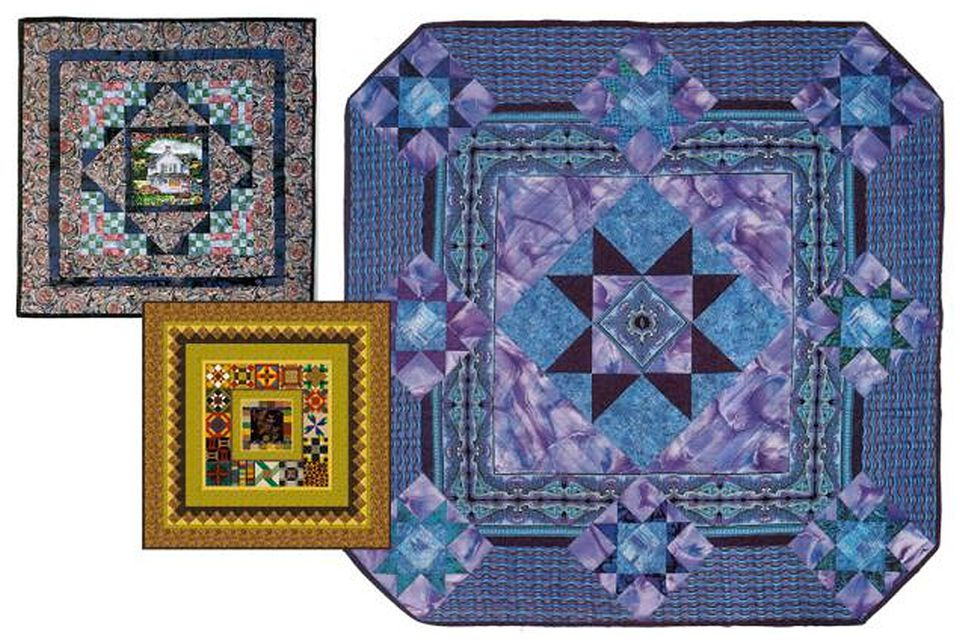 Examples of Medallion Quilts