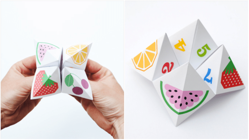 Origami Fortune Teller Mini Eco