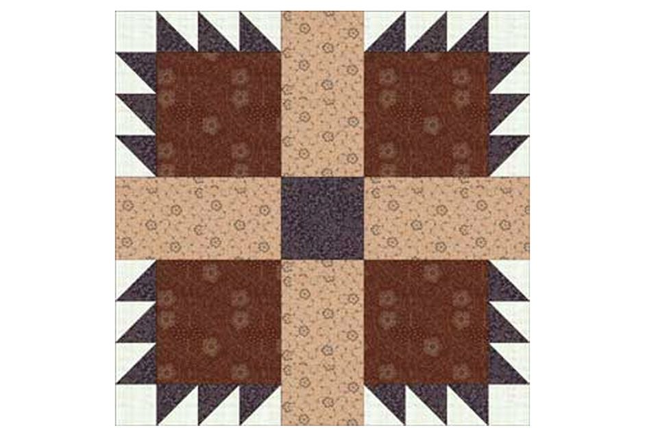 Premium Star Quilt Block Pattern